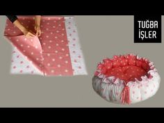 Babynest Round Baby Bed Cutting and Sewing   Tuğba İşler - YouTube Baby Girl Frocks, Frocks For Girls, Baby Nest Pattern, Bunny Painting, Girls Frock Design, Baby Sewing Projects, Diy Crafts Hacks, Baby Dress, Projects To Try