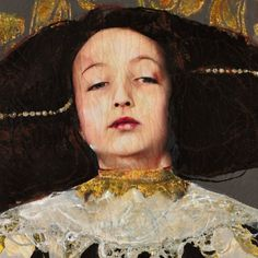 Spanish artist Lita Cabellut paints 17th century Spanish and Dutch Baroque inspired portraits that are larger than life. A visit to Madrid's Prado Museum when she was young affected her deepl…