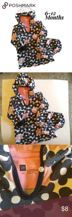 Baby Hoodie and Diaper Cover Baby Gap Hoodie and Diaper cover EUC  Smoke free, dog friendly home  6-12 months Gap Shirts & Tops Sweatshirts & Hoodies