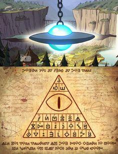 También hay un alfabeto secreto. | 21 Misteriosos datos que tal vez no sabías sobre Gravity Falls
