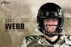 Welcome to Colorado, Webb! College Quarterbacks, National Signing Day, Defensive Back, Young Guns, Wide Receiver, College Football, Football Helmets, Riding Helmets, Colorado