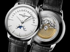 VACHERON CONSTANTIN – PATRIMONY MOON PHASE AND RETROGRADE DATE