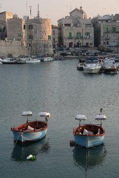 Puglia : Giovinazzo - Porto turistico