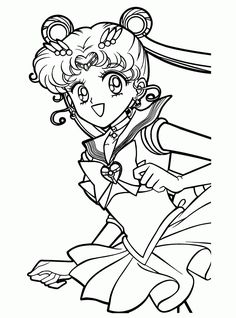 sailor moon coloring pages pictures