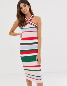 Buy Ted Baker Iyndiaa bodycon dress at ASOS. With free delivery and return options (Ts&Cs apply), online shopping has never been so easy. Get the latest trends with ASOS now. Ted Baker Dress, Stripes Design, Summer Wardrobe, Pop Fashion, Fashion Online, Latest Trends, Asos, Fashion Dresses, Bodycon Dress