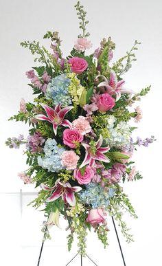 flower shop in Middletown, CT :: Flowers in Middletown Casket Flowers, Grave Flowers, Cemetery Flowers, Funeral Flowers, Wedding Flowers, Rustic Flower Arrangements, Funeral Floral Arrangements, Large Flower Arrangements, Beautiful Flowers
