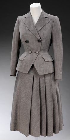 Skirt suit  Designed by Edwin Hardy Amies  England  1947