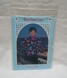 Back Porch Press - Log wild jacket pattern, 1991 Gail Abeloe , new, & uncut…