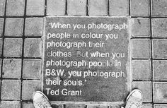 Black and white photography captured the soul ❤️ monochrome. Quote.