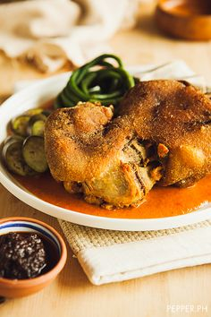 This Crispy Kare-Kare is a Heart Attack Sitting on a Pool of Peanut Sauce | Pepper.ph