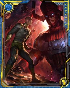 RPGOTG - [Master and Servant] Galactus & Silver Surfer+