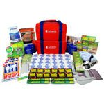In Case Of - Deluxe 72 Hour Emergency Kit Essential emergency supplies for four people, Compact and lightweight, High performance products 72 Hour Emergency Kit, Emergency Bag, Emergency Preparedness Kit, Emergency Supplies, Emergency Response, Pre Wrap, First Aid Supplies, Acrylic Mirror