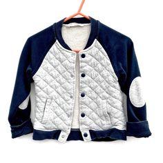 H&M kids baseball sports Jacket uk 7-8 yrs Eur 122-128 snap fastening grey blue Jackets Uk, Sports Baseball, Click Photo, Sports Jacket, My Ebay, Boy Outfits, Blue Grey, Amp, Boys