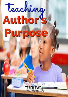learn how to teach student's different ways of remembering author's purpose - persuade, inform, entertain. Includes a 9 minute video with lots of examples of P. Reading Activities, Educational Activities, Teaching Reading, Benchmark Literacy, Reading Comprehension Skills, Reading Skills, Student Teaching, Teaching Ideas, Authors Purpose