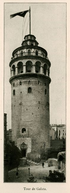 Tower of Galata-1913