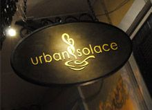 Urban Solace.  Great atmosphere and the food was fantastic!  The wait staff really knew their stuff!  Nice wine selection.