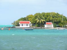 L'îlot mouchoir à l'île Maurice