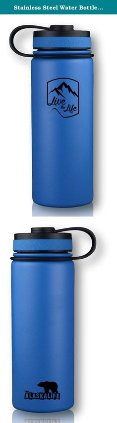 Stainless Steel Water Bottle - Wide Mouth Mug - Insulated Water Bottle - Double Walled - Vacuum Insulated - Water Bottle 18 oz. DON'T SETTLE FOR CHEAP INSULATED WATER BOTTLE - The Explorer Bottle is a Vacuum Insulated Water Bottle that outperforms other products that are simply a double walled tumbler. This wide mouth bottle is a perfect fit for someone looking for a stainless steel water bottle kids friendly item for use in school, on the field, or outdoors/camping!18/8 TRUE STAINLESS…