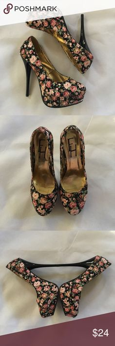 Floral FH Pumps~ Size 5 1/2~ LOVE💋 These pumps are stunning. Size 5 1/2 and ready to ship. Condition: NWT NWOT GREAT GOOD ✅ FAIR  I'm always open for a good offer, don't hesitate to ask if it's reasonable. My prices can change daily. Please if you are unsure about the size, I will measure and get back to you ASAP. I would like to avoid low ratings because of potential sizing issues, when I will gladly measure for you If you have any questions let me know. Happy Shopping 😊 FH Shoes…