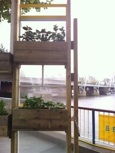London photo of the day: windowboxes along the Thames