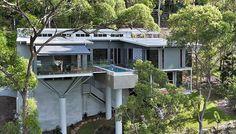 Incroyable maison contemporaine australienne intégrée au panorama naturel,  #construiretendance