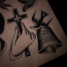 Original flash tattoo by Dave Agostino. #ink #inkonskin #traditional #traditionaltattoo #oldschooltattoo #blacktattoo #boldtattoo #romantictattoo #classictattoo #classicflash #flashtattoo