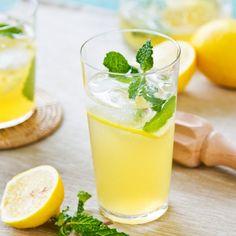 Limonada con Menta y Burbujas