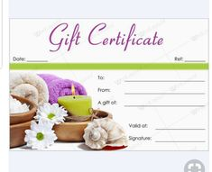 massage therapy gift certificate template.html