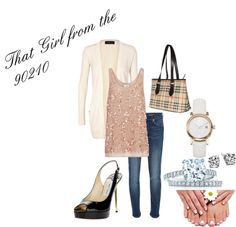 """""""That Girl from the 90210"""" by fashionista-222-jlm on Polyvore"""