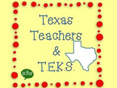 Ideas & Inspiration for Texas Teachers & TEKS
