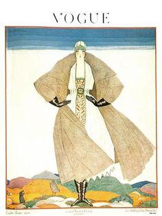 ⍌ Vintage Vogue ⍌ art and illustration for vogue magazine covers -  June 1920