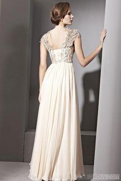 Lovely Empire Floor Length Prom Dress