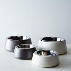 Concrete Pet Bowl