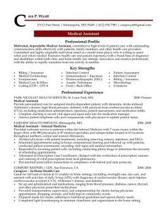 professional medical resume google search - Sample Resume For Medical Assistant