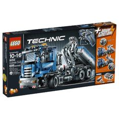 LEGO TECHNIC Container Truck 8052 >>> For more information, visit image link. (This is an affiliate link) #BuildingToys