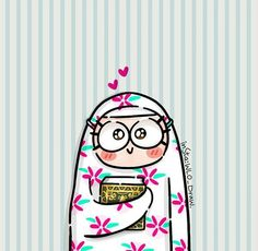 Wallpaper for android and iphone Cartoon Drawings, Cute Drawings, Ramadan Poster, Ramadan Cards, Ramadan Activities, Eid Crafts, Anime Muslim, Islam For Kids, Kawaii Illustration