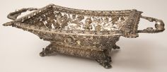 Prussian Silver Two-Handled Basket | August 6, 2016 Auction at Rafael Osona Auctions Nantucket, MA