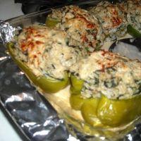 amazing veggie stuffed peppers!