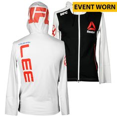 Vaughan Lee Ultimate Fighting Championship UFC Fight Night Bisping vs. Leites Event-Worn Walkout Hoodie - Fought Paddy Holohan in a Flyweight Bout - $249.99