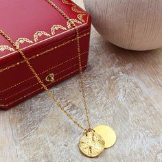 14€ shopping free Carat Gold, Plaque, Venus, Or, Plating, Gold Necklace, Etsy, Paris, Shopping
