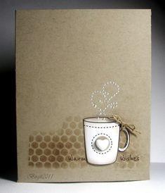 Inking Idaho: Valentine Coffee Cups | Mini coffee cups