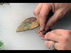 Leaf Pin Part 2 #Polymer #Clay #Tutorials