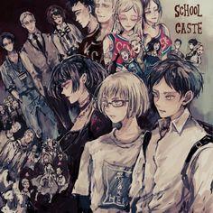 Armin, Mikasa, Levi X Eren, Levi Ackerman, Christa Lenz, Manga Anime, Anime Art, Connie Springer, Draw The Squad