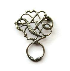 Jewelry & Watches Eivind Hillestad Sterling Silver Pin Norway High Resilience
