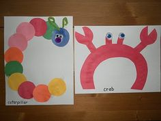 Alphabet Craft book  C is for Caterpillar  C is for Crab