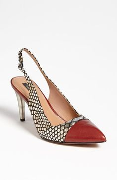 Rachel Zoe 'Eileen' Pump available at #Nordstrom <-- This shoe will add a pop to a navy, grey or black pant or skirt.