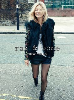 Kate Moss for Rag&Bone - Vogue. Mode Outfits, Stylish Outfits, Party Outfits, Estilo Kate Moss, Kate Moss Stil, Cooler Stil, Estilo Cool, Cher Horowitz, Queen Kate