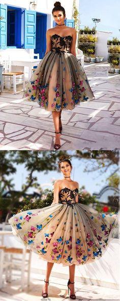 Weddings & Events Pfirsich 2019 Homecoming Kleider A-linie V-ausschnitt Halbarm Short Mini Spitze Elegante Cocktail Kleider Professionelles Design