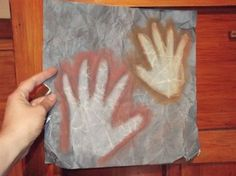 Step by Step: How to create a cave painting with your kids!
