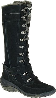 Cushe Womens Allpine Tundra Waterproof Leather Winter High Boot Black 7 >>> Click on the image for additional details.(This is an Amazon affiliate link)